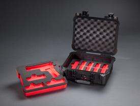 united case pistol cases w foam inserts pelican 1450 black gun